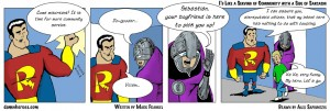 Damn Heroes Webcomic strip-32