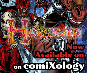 Horsemen is Now Available on Comixology
