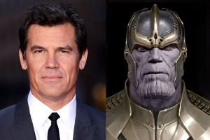 Josh Brolin as Thanos - Guardians of the Galaxy