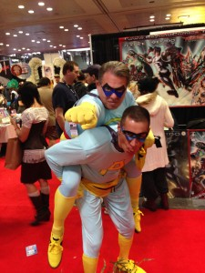 New York Comic Con | Ace and Gary, the Ambiguously Gay Duo!