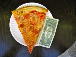 Dollar Pizza | Where to Eat in NYC