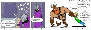 Webcomics: Damn Heroes strip-00047